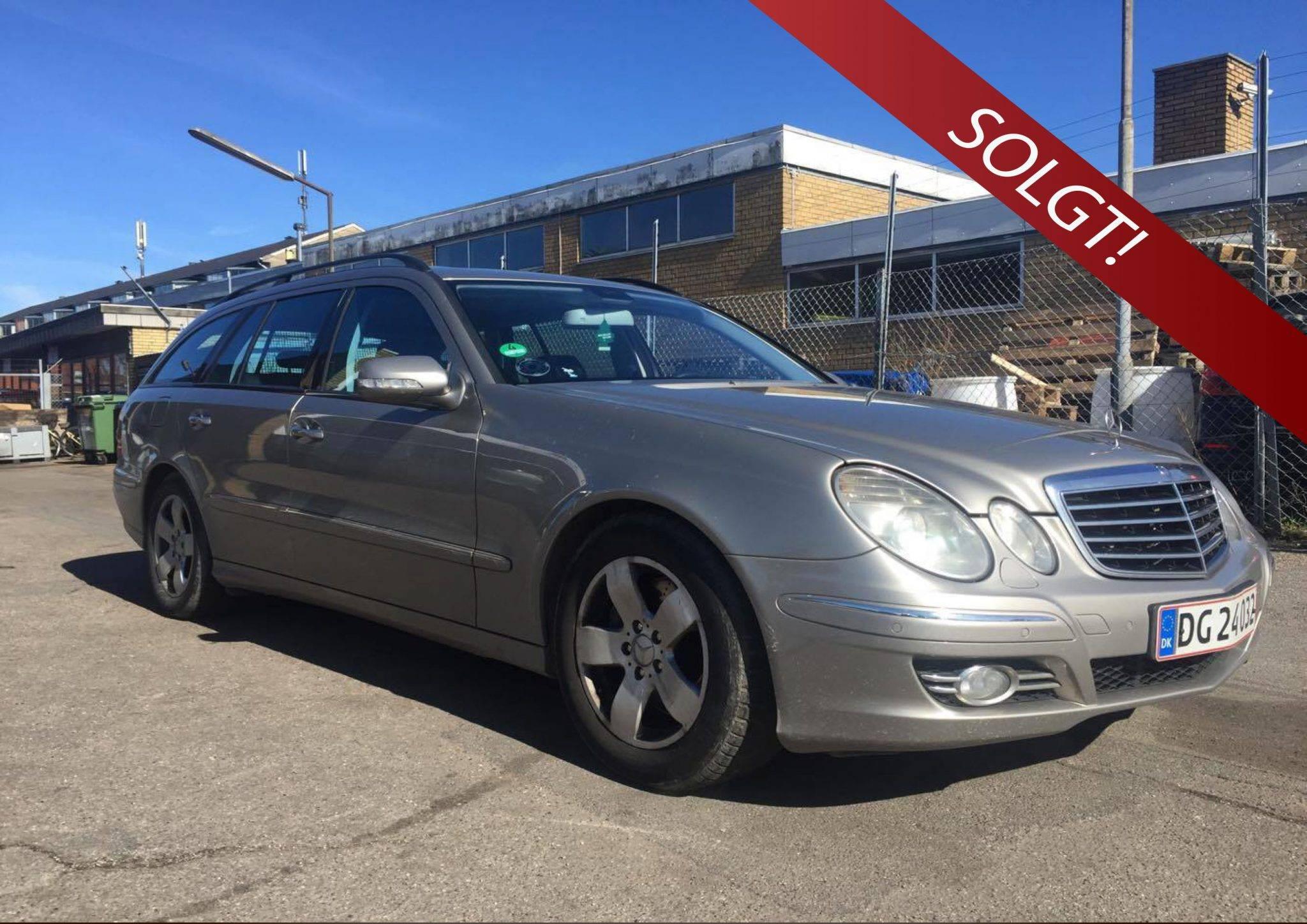 Mercedes 320 E solgt - Bilsalg