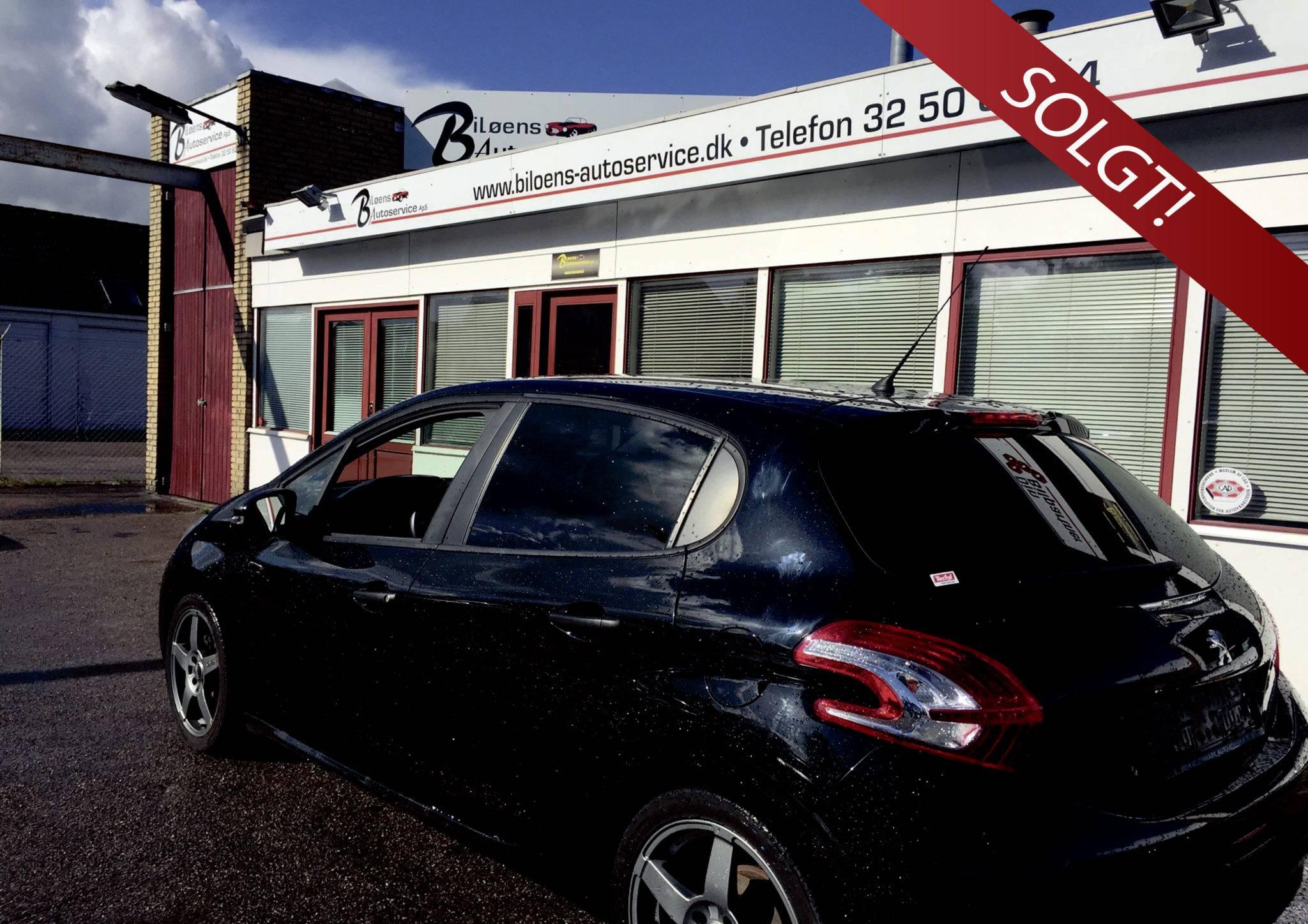 Peugeot 208 2014 solgt - Bilsalg