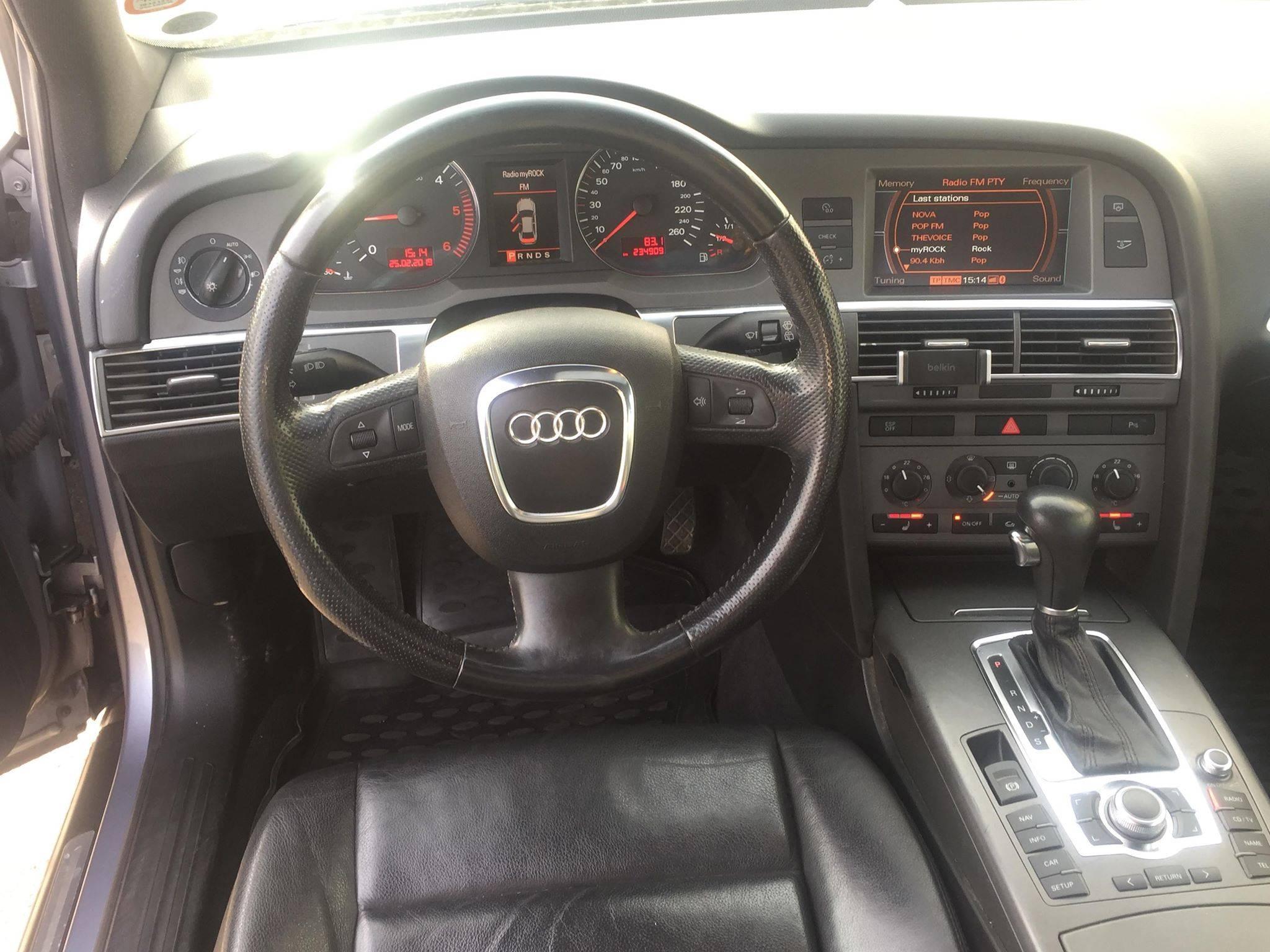 a8 - Audi A6 2,7 TDi S-line Avant quattro Tiptr 5d